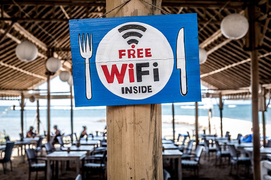 wifi outil communication